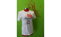 T-SHIRT NOIVA DO ANO - M