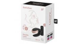 SATISFYER - VIBRADOR DUPLO LUXURIA DE CASAL USB